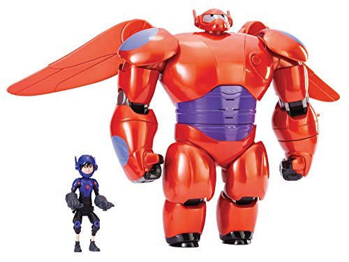 Big Hero 6 11 Deluxe Flying Baymax with 4.5 Hiro Action Figures by Big Hero 6