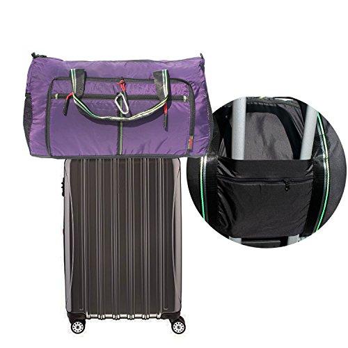 Foldable Travel Bag Duffle Bag Organizer Storage Lightweight Sports Gym Tote Bag by Alpaca Go (Image #3)