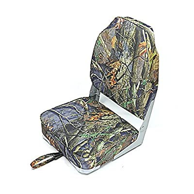 New Standard Stripe High Back Folding Fishing Boat Seat 4 color