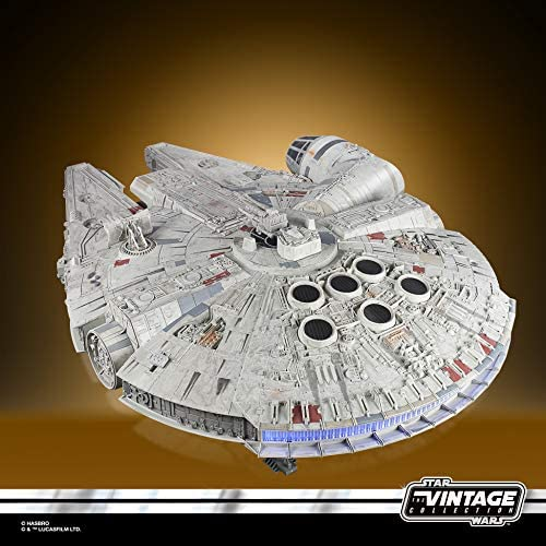 Hasbro Star Wars The Vintage Collection Galaxy S Edge Millennium Falcon Smuggler S Run Electronic Vehicle Toy For Kids 4 Years And Up Spielzeug
