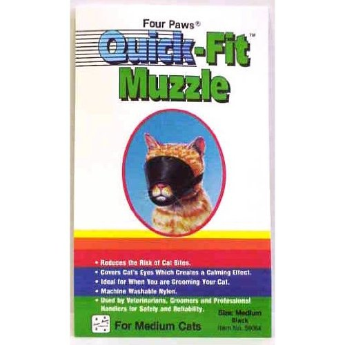 Four Paws Small Ouick Fit Cat Muzzle -