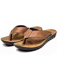 INFLATION Bathroom/Indoor Slippers Non-Slip Soft Bottom Flip Flops Summer Beach Men Sandals