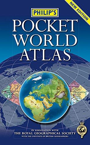 Pocket Road Atlas - Philip's Pocket World Atlas