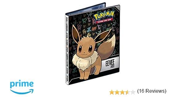 Asmodee Eevee 4-Pocket Portfolio for Pokemon Color 84918-P