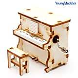 Desktop Wooden Model Kit Orgel Piano