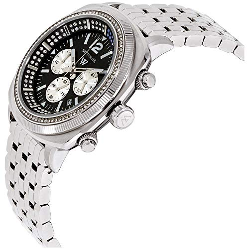 Wittnauer Black Dial Stainless Steel Men's Watch WN3061 for sale  Delivered anywhere in USA