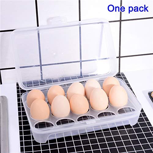 Yhtumn Huevos para Nevera, Soporte para Huevos, Bandeja para ...