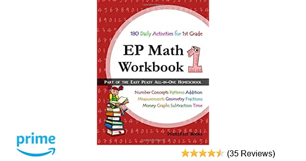 EP Math 1 Workbook: Part of the Easy Peasy All-in-One