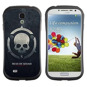 Suave TPU GEL Carcasa Funda Silicona Blando Estuche Caso de protección (para) Samsung Galaxy S4 I9500 / CECELL Phone case / / Dead De Sound DDS /
