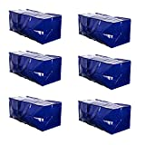 VENO Heavy Duty Extra Large Moving Bag Storage Tote Backpack Carrying Handles & Zipper Alternative to Moving Box, Compatible with IKEA Frakta Hand...