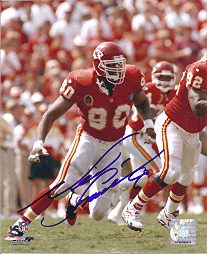 Neil Smith Autographed/Signed Kansas City Chiefs 8x10 Photo