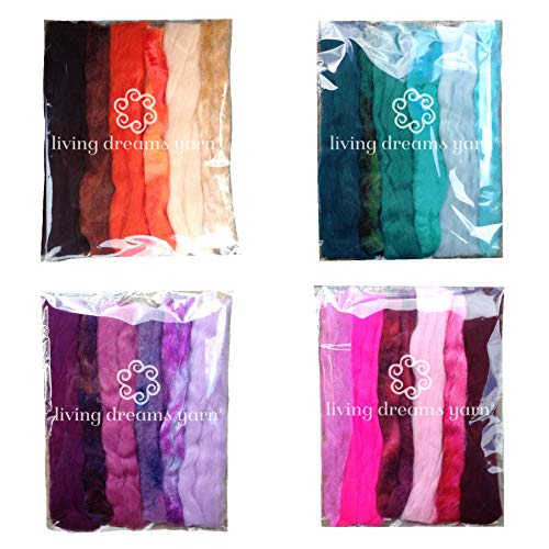 - Magic Wool Fiber for Needle Felting Wool Fairies, Angels, Mermaids and Waldorf Dolls. Super soft Merino Roving, hand dyed BFL Luster Wool and sparkling Firestar. 4 Multi Fiber Samplers 1oz each