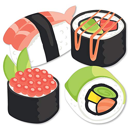 (Let's Roll - Sushi - Decorations DIY Japanese Party Essentials - Set of)