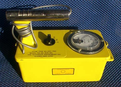 CD V-700 Geiger Counter Civil Defense Radiation Detector