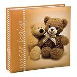 Hama Michi Baby Einsteck Fotoalbum (geeignet für 200 Fotos im Format 10 x 15 cm) orange
