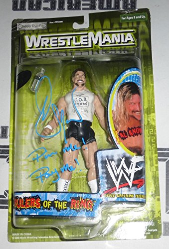 Al Snow & Head Signed Wrestlemania 2000 Action Figure COA WWE Autograph - PSA/DNA Certified - Autographed Wrestling Miscellaneous Items