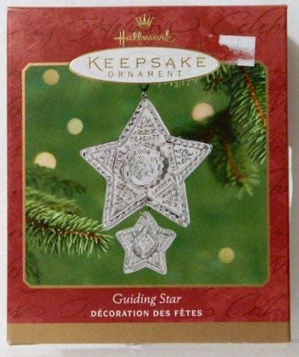(Guiding Star Pewter 2001 Hallmark Ornament QX8962 by Keepsake)