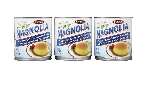 Amazon.com : Magnolia Sweetened Condensed Milk - 14 oz - 3 pk : Grocery & Gourmet Food