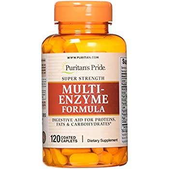 Puritans Pride Super Strength Multi Enzyme-120 Caplets