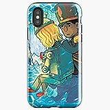 Britta Perry Troy Barnes Community Nbc - Apocalypse Phone Case Glass, Glowing For All Iphone, Samsung Galaxy-gojeek.