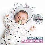 Newborn Baby Head Shaping Pillow | Memory Foam