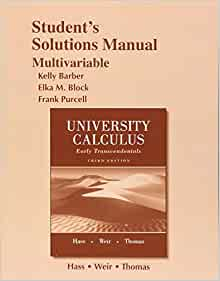 University Calculus Early Transcendentals 3rd