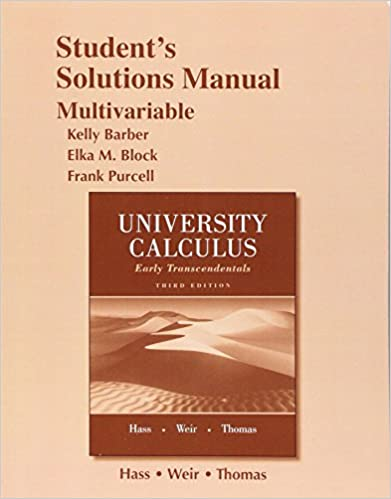 Student solutions manual for university calculus early student solutions manual for university calculus early transcendentals multivariable 3rd edition fandeluxe Choice Image