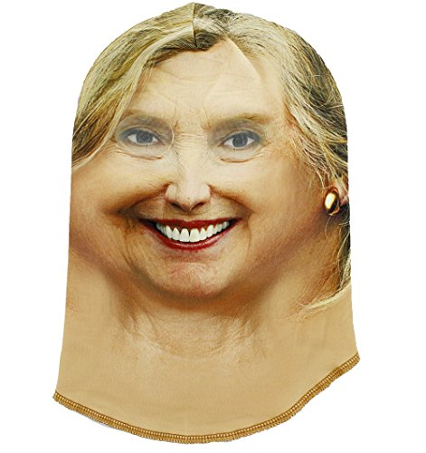 [Hillary Rodham Clinton Halloween Costume Face Mask - One Size Fits Most] (Halloween Costumes With Gas Mask)