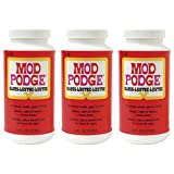 Mod Podge Fast Dry Tissue Glue and Glaze, 1 Pint