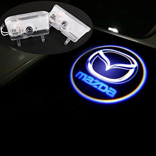 Deleika 2x Led Car Door Logo Welcome Light Ghost Shadow
