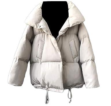 Andopa Puffer cortos bolsillos térmicos acolchado perchero ...