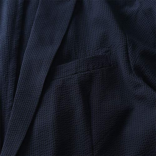 LINKATION シアサッカー ストレッチ カジュアル ジャケット アスレジャー スポーツウェア lajk3620326 大きいサイズ メンズ 2L 3L 4L 5L 6L