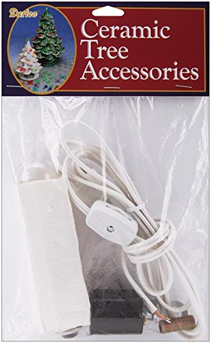 Image Unavailable - Amazon.com: Darice Ceramic Tree Accessories Lamp Kit: Arts, Crafts