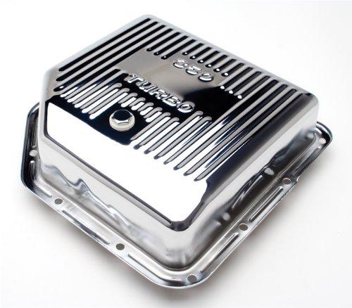 Trans-Dapt 9198 Chrome Finned Transmission Pan