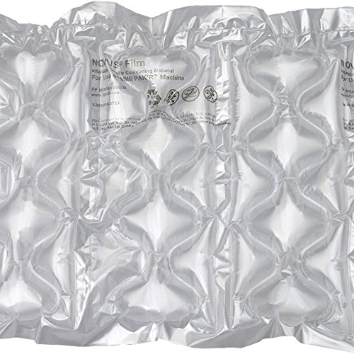 Mini Pak'r MINP16614 Large Bubble Quilt Cushion Roll, 16'' Length x 6'' Width x 1-1/4'' Thick, 650' Overall Length, Clear by Mini Pakr