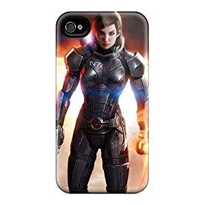 Premium Protection Mass Effect 3 3d Femshep Commander Shepard Cases Covers For Iphone 6- Retail Packaging