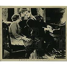 """1927 Press Photo Eugenie Besserer, Al Jolson in """"The Jazz Singer"""" - lfx03977 - 8.25 x 10 in. - Historic Images"""
