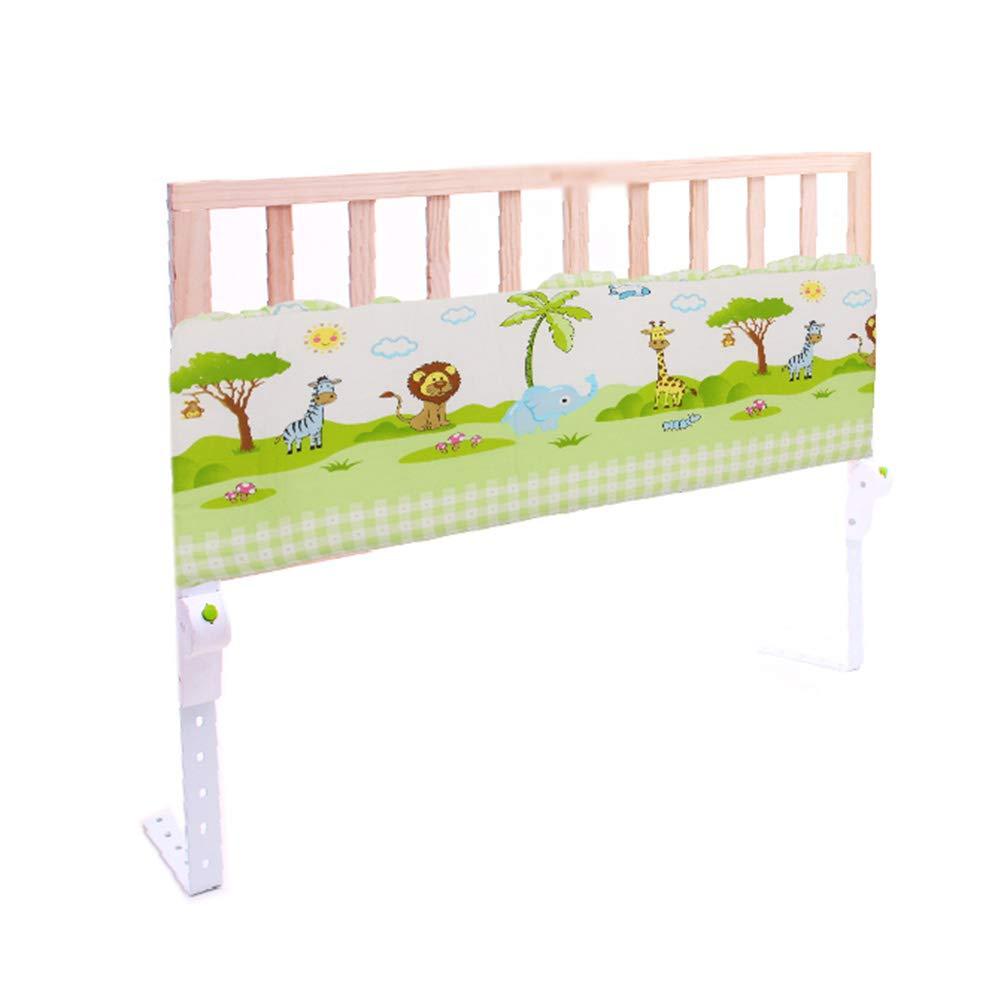 ベッドフェンス 木製ベッドレール、幼児の赤ちゃんと子供のための、ポータブル折りたたみシングルベッドの安全保護ガード、120 cm (色 : Style2)  Style2 B07MG862XN