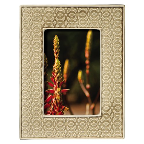 Grasslands Road Everyday Life Sterling Taupe Modern Impressions Ceramic Frame, 4 by 6-Inch by Grasslands Road