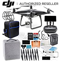 DJI Phantom 4 PRO+ PLUS Obsidian Edition Drone Quadcopter EVERYTHING YOU NEED Starter Bundle