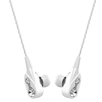 Winwintom Auriculares In-Ear con Microfono,Auriculares Deportivos,Metal Auriculares Bluetooth Inalambricos,