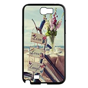Live Laugh Love Personalized For Case Samsung Galaxy Note 2 N7100 Cover ,customized phone case ygtg576359