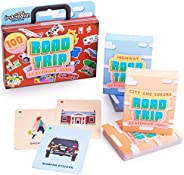 Road Trip Scavenger Hunt – Search for 100 Objects with (2) Decks: 50 Highway Trip Cards and 50 City & Suburbs Trip Cards - K
