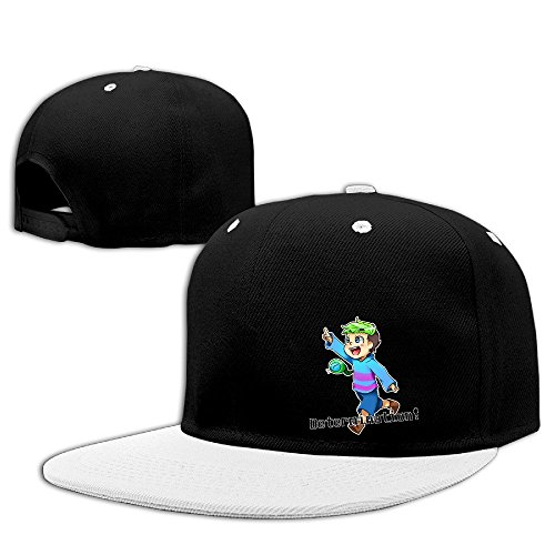 [Hip Hop JACKSEPTICEYE Fitted Hats Men's] (Jumbo Hip Hop Adult Hat)