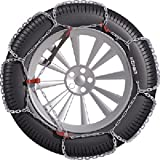 Konig 12mm CB12 Passenger Car Snow Chain, Size 102 (Sold in pairs)