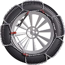 Konig 12mm CB12 Passenger Car Snow Chain, Size 097 (Sold in pairs)