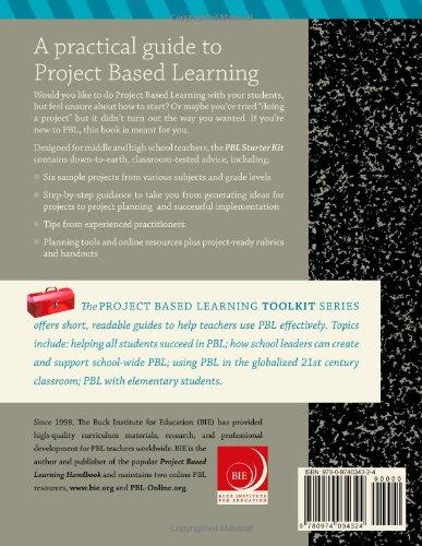 Project Based Learning PBL Starter Kit John Larmer David Ross