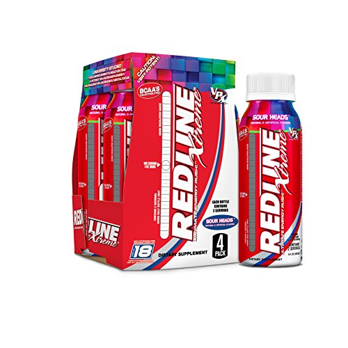 VPX Redline Xtreme Energy Ready to Drink, Sour Heads, 24 Cou