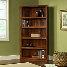 Sauder 5-Shelf Bookcase, Abbey Oak Finish