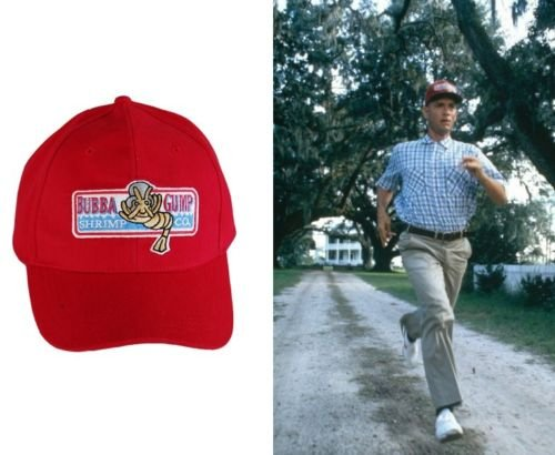 Bubba Forrest Gump Shrimp Co. Adult Baseball Cap Hat
